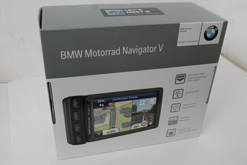 neu bmw motorrad navigator 5 v motorcycle gps mit mount. Black Bedroom Furniture Sets. Home Design Ideas